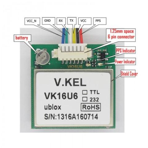 GPS VK16U6 uBlox 2