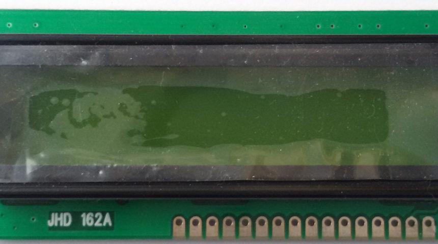 16×2 LCD Green