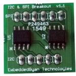 I2C Temp, SPI EEPROM