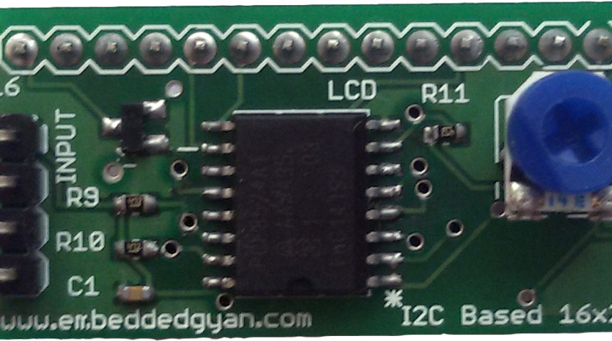 PCF8674 I2C to LCD